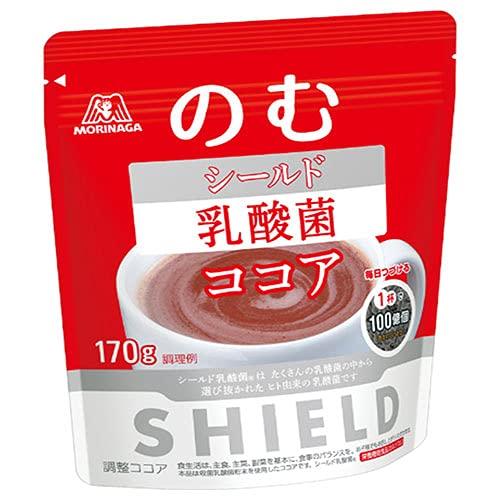 森永製菓 シールド乳酸菌 ココア 170g×24袋入×(2ケース)