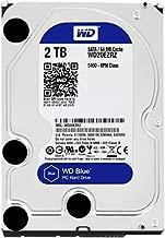 WD Blue 3TB Desktop Hard Disk Drive - SATA 6 Gb/s 64MB Cache 3.5 Inch - WD30EZRZ (Renewed)