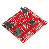 SparkFun WAV Trigger Play Uncompressed audio files 16-bit Files at 44.1kHz On-board mono Audio amplifier Speaker connector 14 parallel stereo tracks Polyphonic MIDI control 16 trigger inputs Micro SD