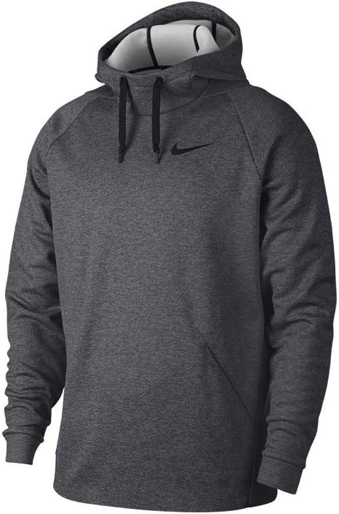 Nike Men's Therma Training Hoodie (XLT, Charcoal)