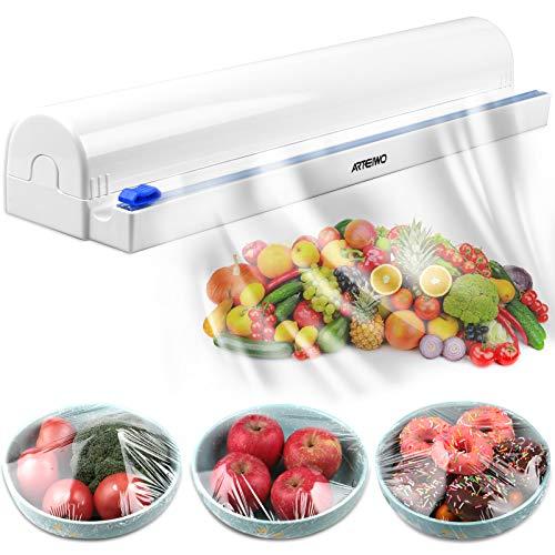 ArteiWo Household Reusable Food Plastic Wrap Dispenser