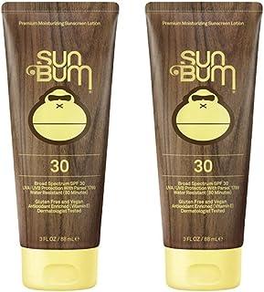 Sun Bum Moisturizing Sunscreen Lotion, 3-Ounce, SPF 30 (2 Pack)