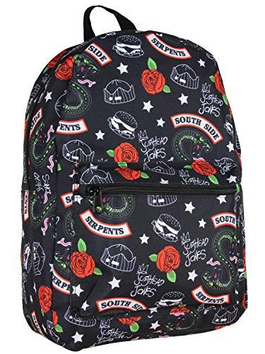 Riverdale Southside Serpents Jughead Jones Allover Print Laptop Backpack Bag
