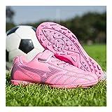 YXIAOL Zapatillas De Fútbol Hombre Profesionales Respirable Antideslizante para Entrenar Al Aire Libre Velcro Atletismo Zapatos Fútbol Zapatos Entrenamiento Zapatos Deporte VIIPOO,J-28
