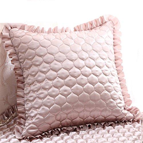 Uus Kaki Sofa Coussin Convient pour Chambre/Salon/Bureau/Voiture Mordern Style Chaleureux Décoration intérieure (Edition : Cushion, Taille : 50 * 50)