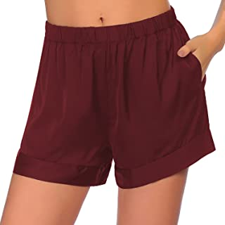 Ekouaer Pajama Shorts for Sleeping Womens Lightweight Lounge Short PJ Bottoms