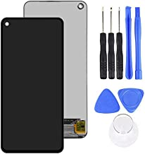 LINASHI Touch Screen Digitizer, AMOLED LCD Display Touch Screen Digitizer Replacement Kit Compatible with Samsung Galaxy A60