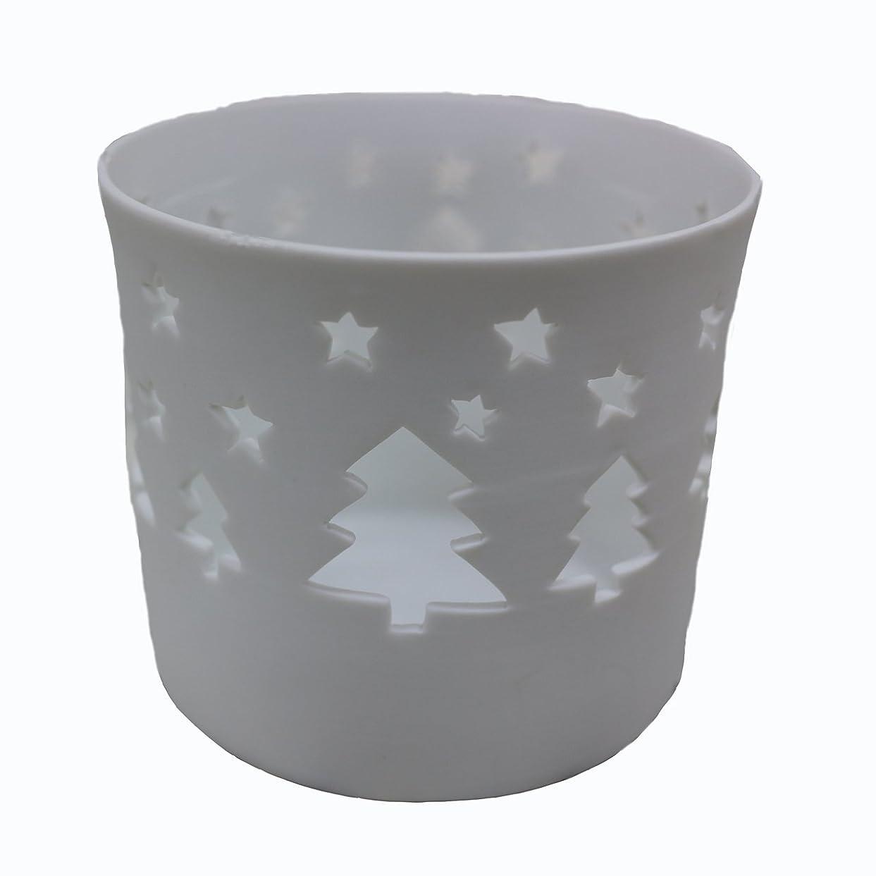 緊張服地中海キャンドルカップ(ティーライト付き)ツリー