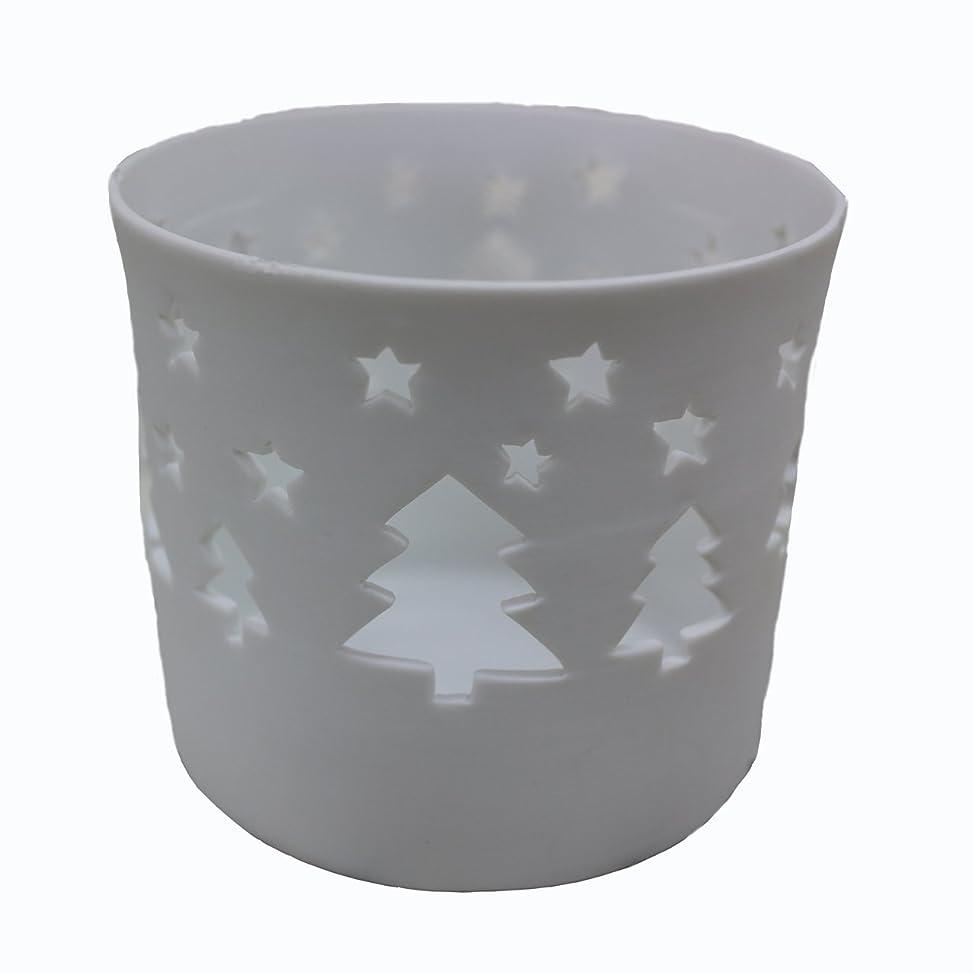 光電火山学者フラフープキャンドルカップ(ティーライト付き) ツリー