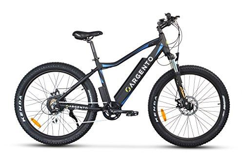 Argento Performance, Bicicletta Elettrica, Mountain Bike a pedalata assistita, Assicurazione AXA 'Tutela Famiglia' inclusa, Route Kenda 27.5'', Unisex – Adulto, Blu