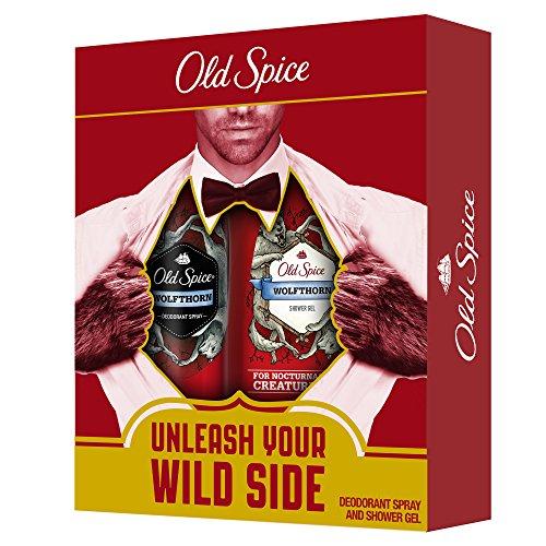 Old Spice Geschenkset Wolfthorn, 1er Pack (2x1)