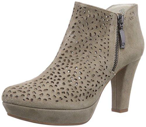 GERRY WEBER Shoes Ella 02, Damen Kurzschaft Stiefel, Beige (beige 200), 39 EU