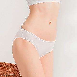 3 PIECES Taille haute Maternité sur la Bosse Culotte//Slips BLANC couleur peau
