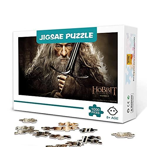 CHDBB Rompecabezas de 300 Piezas El Hobbit La desolación de Smaug Película Personaje Rompecabezas Entretenimiento Juegos Familiares Rompecabezas Decoración del hogar