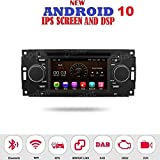 ANDROID 7.1 GPS DVD USB SD WI-FI MirrorLink Bluetooth autoradio navigatore Jeep Compass Jeep Commander Jeep Grand Cherokee Jeep Wrangler Chrysler 300 Chrysler 300 C Chrysler Pacifica Dodge Ram Dodge