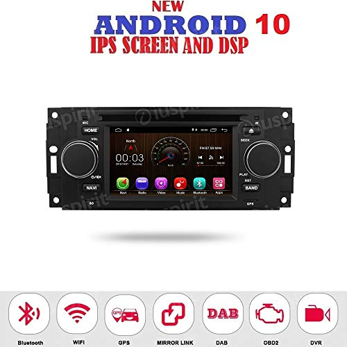 ANDROID 7.1 GPS DVD USB SD WI-FI MirrorLink Bluetooth autoradio navigatore Jeep Compass Jeep Commander Jeep Grand Cherokee Jeep Wrangler Chrysler 300 Chrysler 300 C Chrysler Pacifica Dodge Ram Dodge