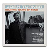 Josh Turner (Country State of Mind) - Album Cover Poster Decorative Painting Canvas Wall Art Living Room Posters Bedroom Painting 16'×16'(40*40cm)