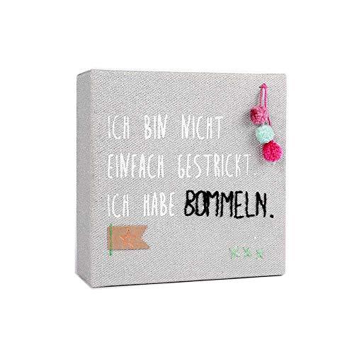 Good old friends GmbH Mini Leinwand Bommeln