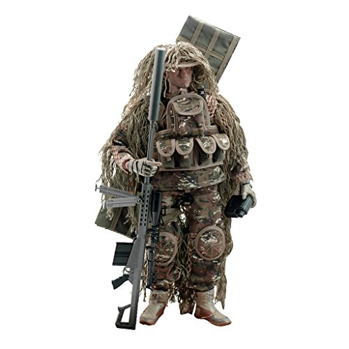 sharprepublic 1:6 Mini Gelände Sniper Armee Action Figur Soldat Spielzeug Modell 12 Zoll