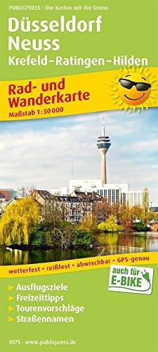 Düsseldorf - Neuss, Krefeld - Ratingen - Hilden: Rad- und Wanderkarte mit Ausflugszielen, Einkehr- & Freizeittipps, wetterfest, reißfest, abwischbar, GPS-genau. 1:50000 (Rad- und Wanderkarte / RuWK)