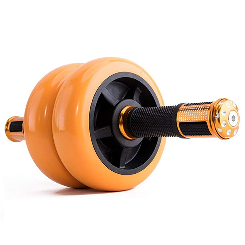 Xiejuanjuan Ab Wheel Fitness Equipment Pro Fitness Equipment Man Woman Ab Roller Wheel Exercise and Fitness Wheel with Easy Grip Handles for Core Training and Abdominal Workout