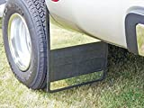 Owens (86RF107S Mud Flap with Stainless Steel Insert, Rubber