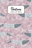 Christmas Card List Book: Keep track of all the christmas cards you have received and sent for 12 year with Tabs
