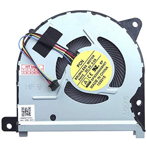 Ventilador compatible con Asus VivoBook Flip TP301UA-C4054T, TP301UA-DW066T, TP301UA-DW009R, TP301UA-DW235T, TP301UA-DW009T