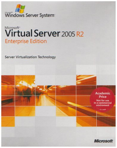 Virtual Server 2005 Enterprise Edition R2 English Academic Edition CD [import anglais]