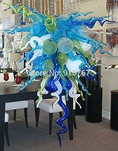 SHIJING Envío Gratuito UL/CE 110V / 220V LED Elegante Techo de Cristal de Murano de la lámpara para el hogar
