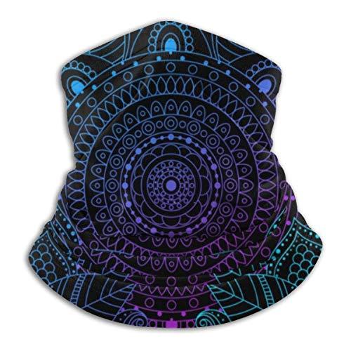 JaOUIY Mosaikfliesen Boho Bandana Gesichtsmaske für Männer Frauen Hals Gamasche Schal Staub Wind Sturmhaube Kopfbedeckung