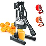 Zulay Professional Citrus Juicer - Manual Citrus Press and...