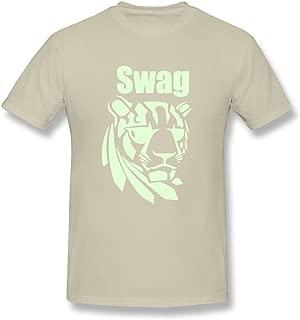 KEMING Men's Tiger Swag T-Shirt