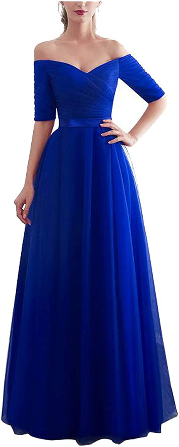 CAFSKYE Bridesmaid Dresses Satin Tulle ALine Sleeveless Wedding Party Prom Girl Dresses Party Dress