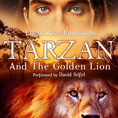 Couverture de Tarzan and the Golden Lion