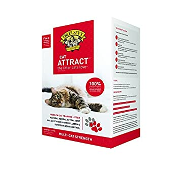 Dr Elsey s Cat Attract Cat Litter  20 LBS