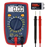 AstroAI Digital Multimeter with Ohm Volt Amp and Diode Voltage Tester Meter (Dual Fused for...