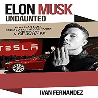 Elon Musk Undaunted cover art