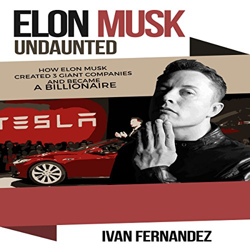 Elon Musk Undaunted audiobook cover art