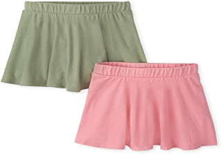 The Children's Place girls Skorts, Pack of Two Shorts