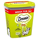 Dreamies Cat Treats, Tasty Snacks with Tempting Tuna, 2 Tubs of 350 g