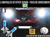 Pack de bombillas de faros de cruce, H7 Xenon, para Renault Clio 4, color blanco