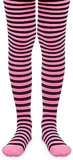 Jefferies Socks Girls Holiday Stripe Neon Fashion Novelty Tights 1 Pack