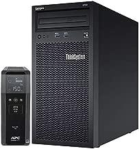 Lenovo ThinkSystem ST50 Tower Server Bundle Including APC BR1500MS 1500VA UPS, Intel Xeon 3.4GHz CPU, 64GB DDR4 2666MHz RAM, 12TB HDD Storage, JBOD RAID
