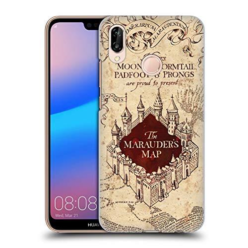 Head Case Designs Officiel Harry Potter The Marauder's Map Prisoner of Azkaban II Coque Dure pour l'arrière Compatible avec Huawei P20 Lite