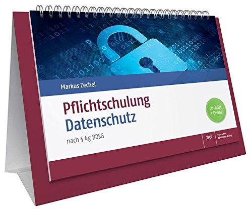 Pflichtschulung Datenschutz: nach § 4g BDSG