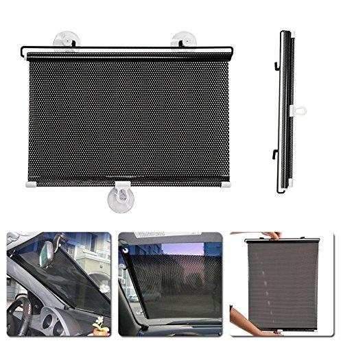 Broadroot Auto 40 cm x 60 cm Auto Versenkbare Seitenfenster Auto Sonnenschutz Vorhang