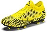 Puma Future 4.4 Fg/ag Botas de fútbol Hombre, Amarillo (Yellow Alert-Puma Black 03), 43 EU