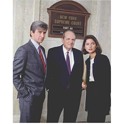Law & Order: Special Victims Unit 8x10 Photo Sam Waterston, Steven Hill & Jill Hennessy kn