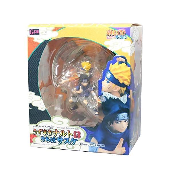 Figura de Uzumaki de Naruto y Sasuke Uchiha, de ALTcompluser Anime de Naruto 5